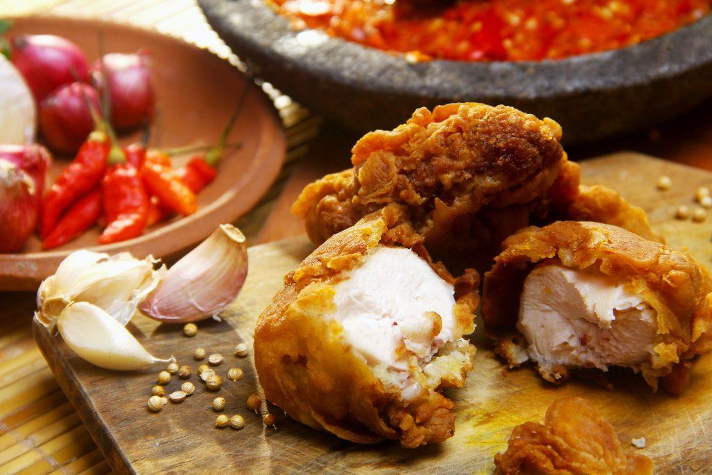 chicken kpop