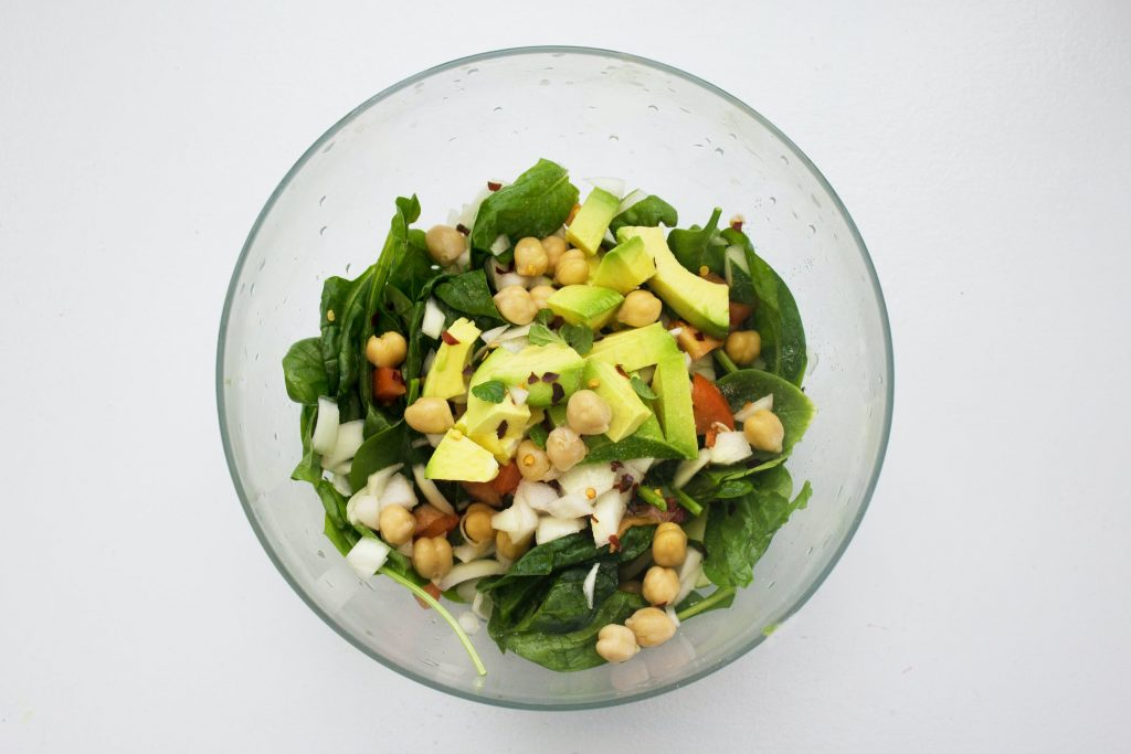 Indulge in veggies